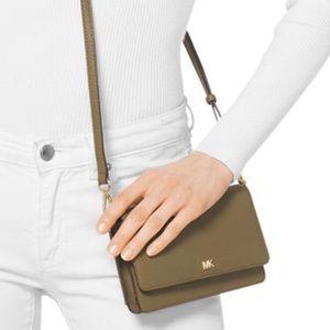 New Michael Kors Pebble leather Crossbody